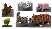 Tiere 3d model