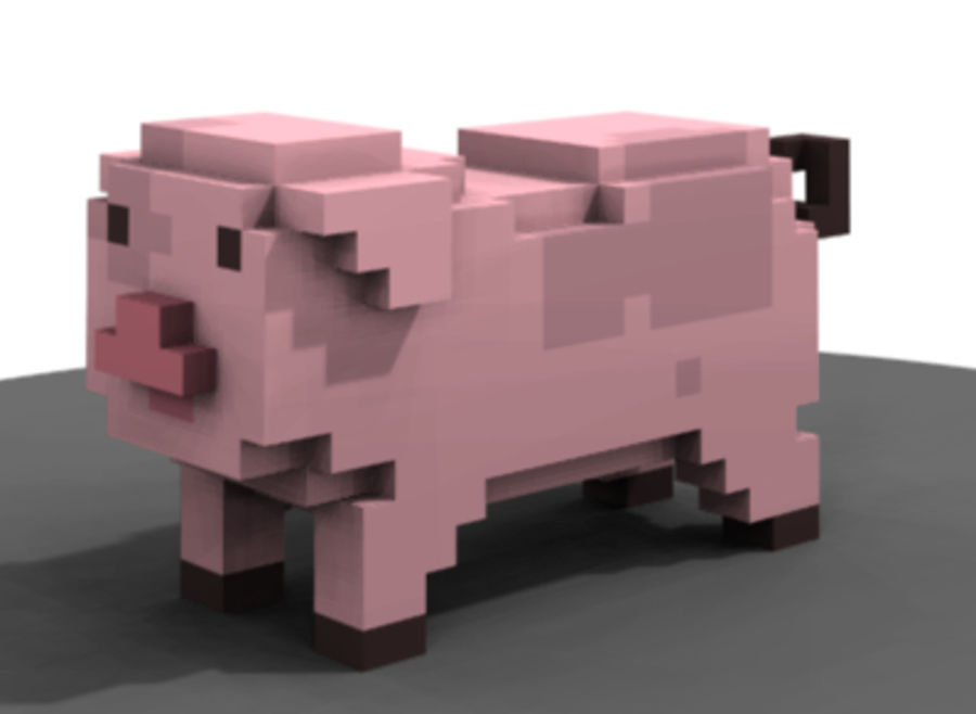 Animals royalty-free 3d model - Preview no. 6