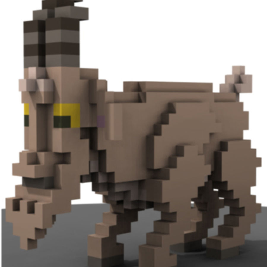 Animals royalty-free 3d model - Preview no. 3