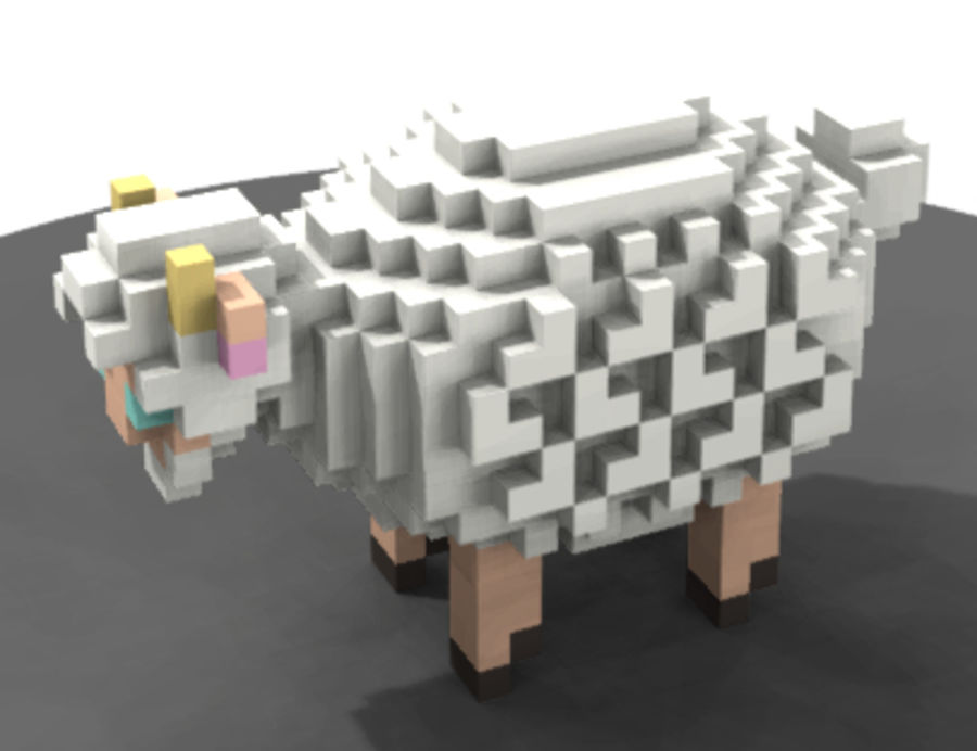 Animals royalty-free 3d model - Preview no. 7