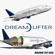 波音747 Dreamlifter 3d model