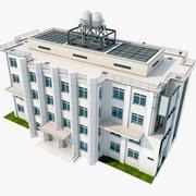 Bâtiment urbain 3d model