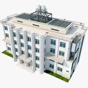 Edificio urbano modelo 3d