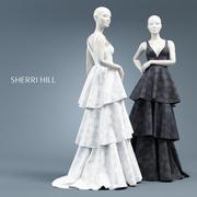 SHERRI HILL 50775 3d model