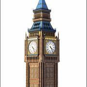 Big Ben, Londres. 3d model
