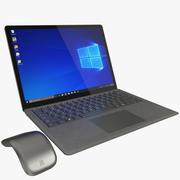 Microsoft Surface Laptop Graphite Gold (getuigd) 3d model