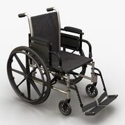 의료 휠체어 3d model