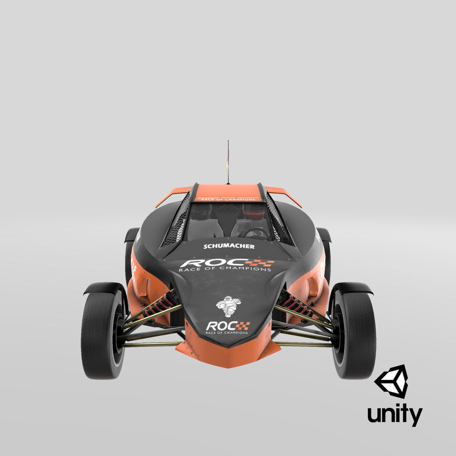 Şampiyonlar Buggy Yarışı royalty-free 3d model - Preview no. 7