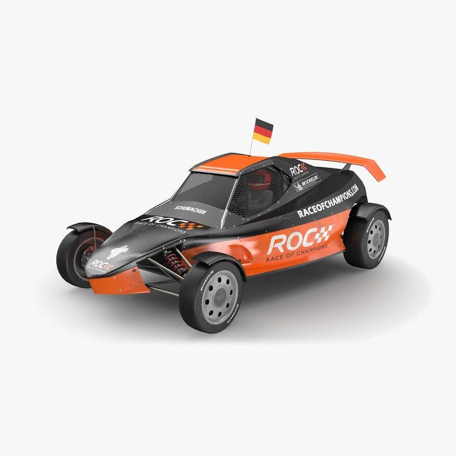 Şampiyonlar Buggy Yarışı royalty-free 3d model - Preview no. 1
