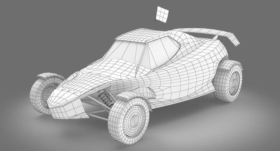 Şampiyonlar Buggy Yarışı royalty-free 3d model - Preview no. 15