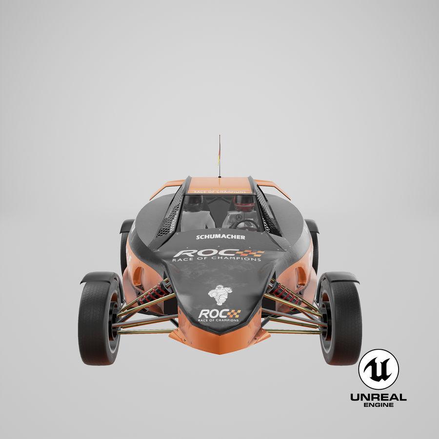 Şampiyonlar Buggy Yarışı royalty-free 3d model - Preview no. 8
