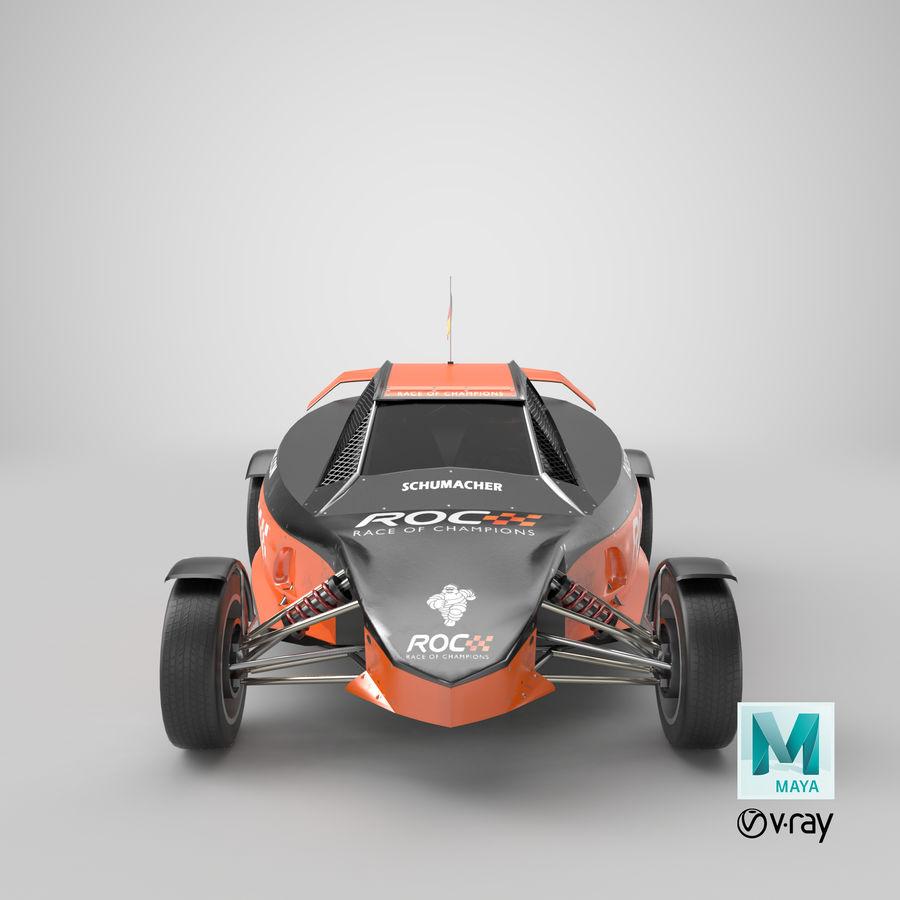 Şampiyonlar Buggy Yarışı royalty-free 3d model - Preview no. 6