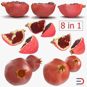 Pomegranate 3D Models Collection 2 3d model