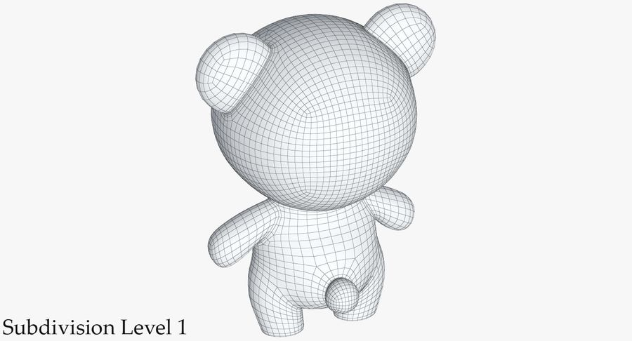 Juguetes Animal Pack 2 royalty-free modelo 3d - Preview no. 26
