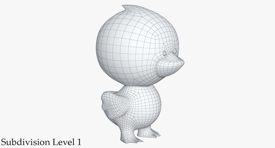 Juguetes Animal Pack 2 royalty-free modelo 3d - Preview no. 9