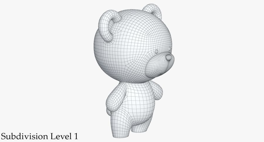 Juguetes Animal Pack 2 royalty-free modelo 3d - Preview no. 22