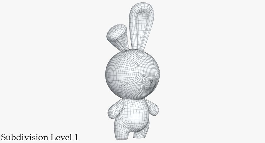 Juguetes Animal Pack 2 royalty-free modelo 3d - Preview no. 35