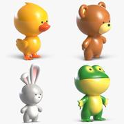 Juguetes Animal Pack 2 modelo 3d