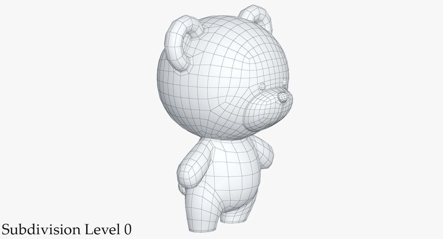 Juguetes Animal Pack 2 royalty-free modelo 3d - Preview no. 21
