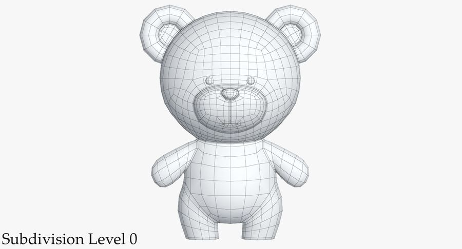 Giocattoli Animal Pack 2 royalty-free 3d model - Preview no. 23