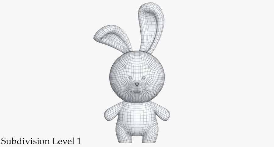 Juguetes Animal Pack 2 royalty-free modelo 3d - Preview no. 37