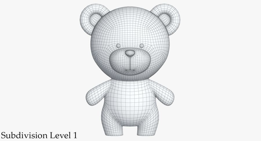 Juguetes Animal Pack 2 royalty-free modelo 3d - Preview no. 24