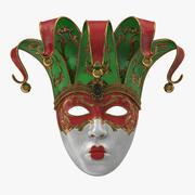 Carnival Mask v2 3d model