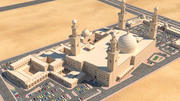 Mezquita 2 modelo 3d