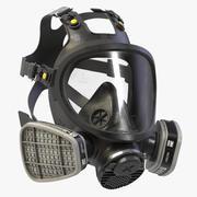 Full Face Respirator 3M 7800(Old) 3d model
