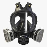 Full Face Respirator 3M 7800(New) 3d model