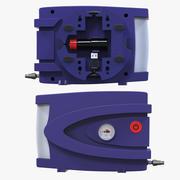 Air Compressor Protable Kit USB12V 3d model