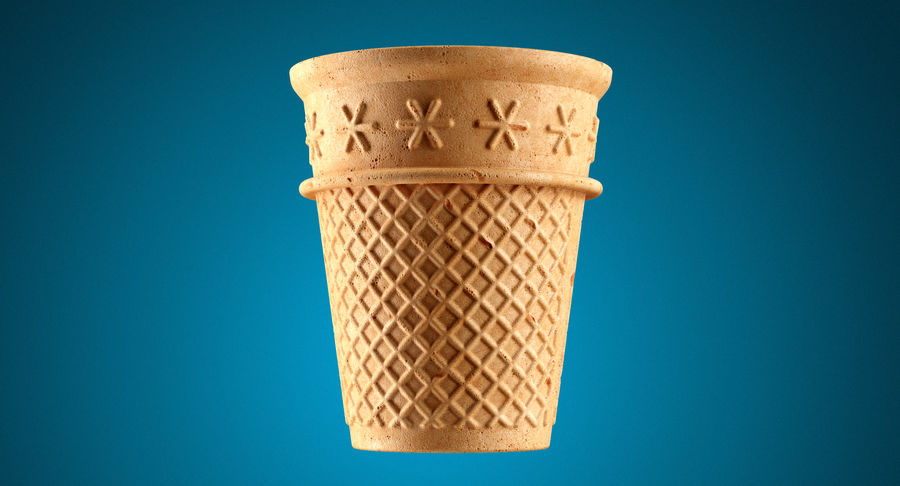 Cone Type A royalty-free 3d model - Preview no. 3