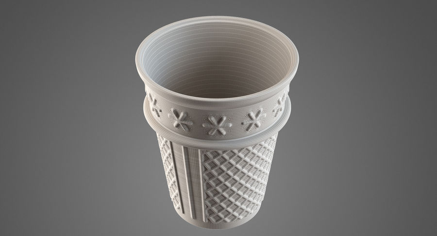 Cone Type A royalty-free 3d model - Preview no. 9