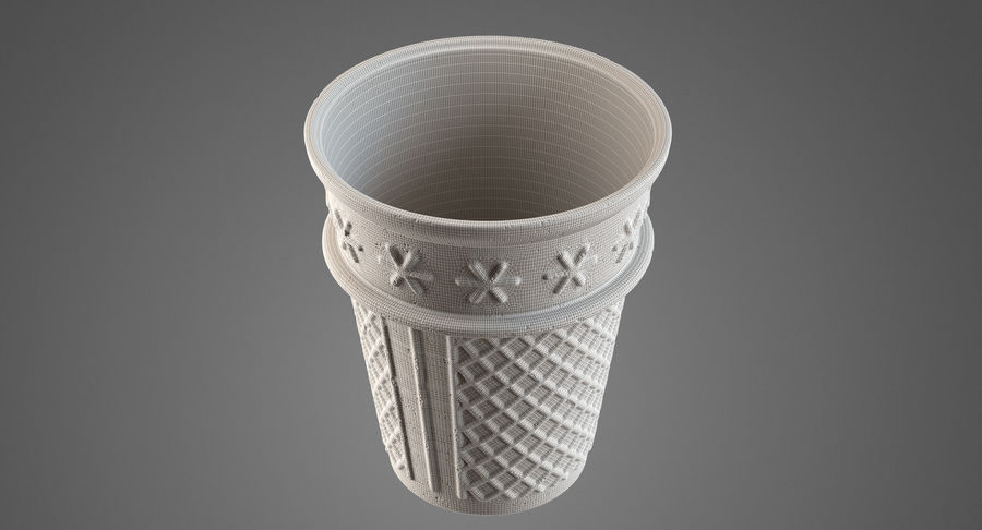 Cone Type A royalty-free 3d model - Preview no. 18
