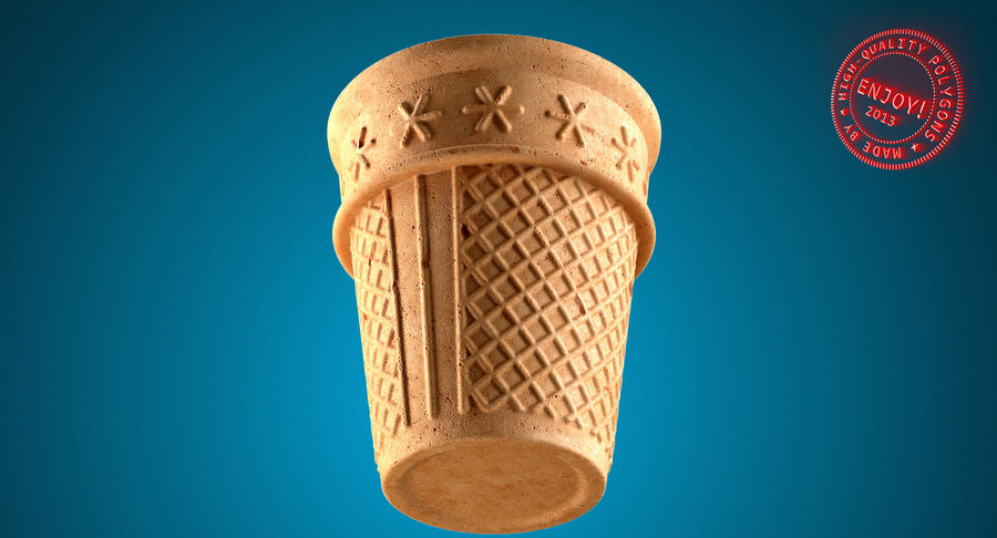 Cone Type A royalty-free 3d model - Preview no. 26