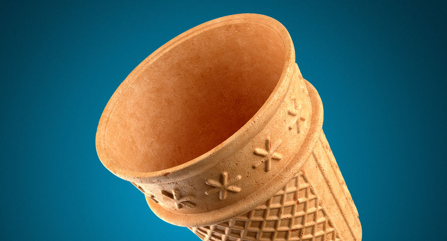 Cone Type A royalty-free 3d model - Preview no. 6