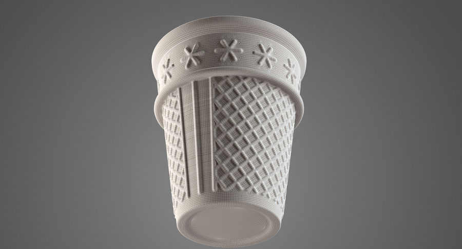 Cone Type A royalty-free 3d model - Preview no. 10