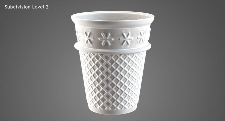Cone Type A royalty-free 3d model - Preview no. 24