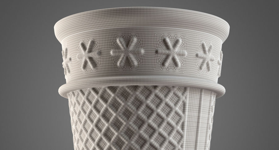 Cone Type A royalty-free 3d model - Preview no. 13