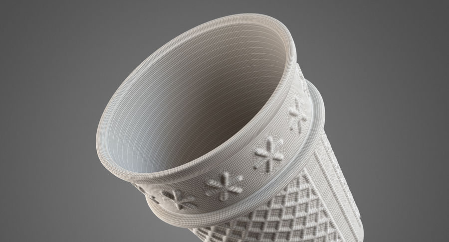 Cone Type A royalty-free 3d model - Preview no. 11