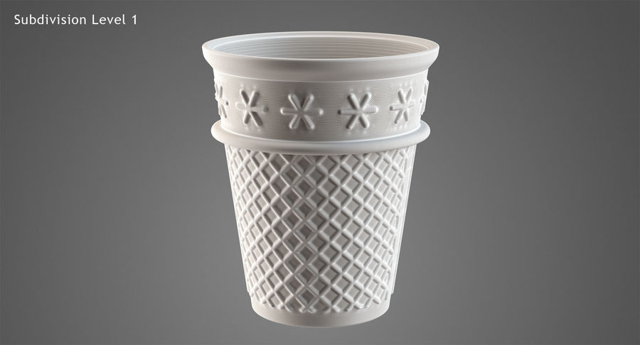 Cone Type A royalty-free 3d model - Preview no. 23
