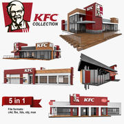 KFC 5 in 1 Collection 3d model