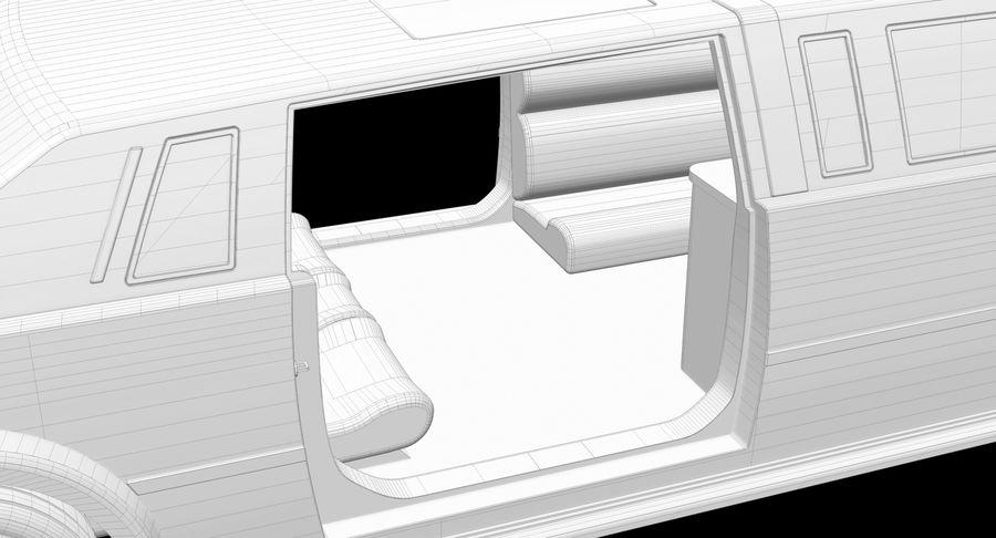 Limusina estirada royalty-free modelo 3d - Preview no. 20