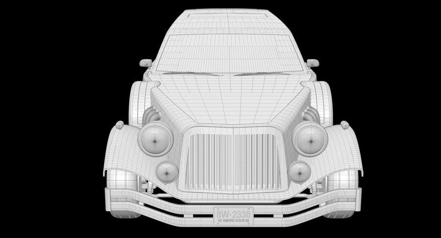 Limusina estirada royalty-free modelo 3d - Preview no. 22