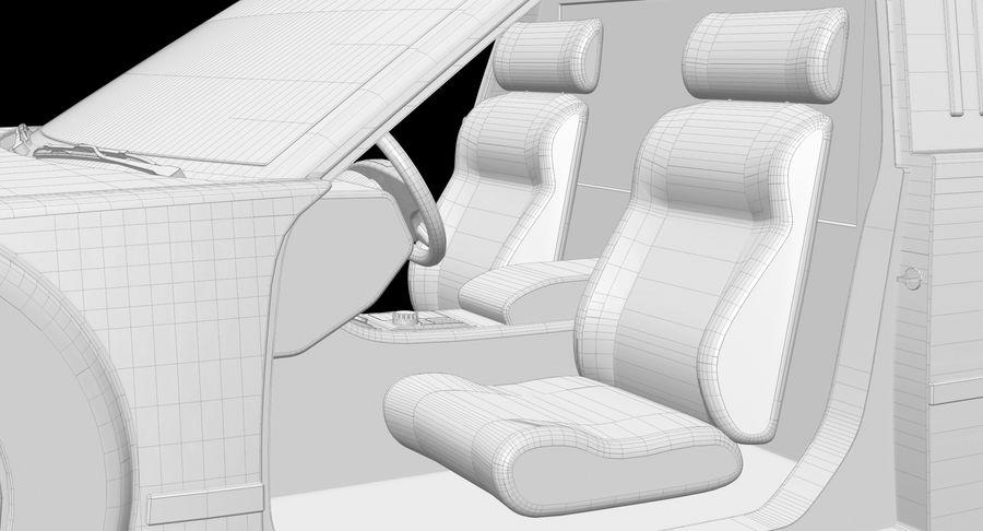 Limusina estirada royalty-free modelo 3d - Preview no. 19