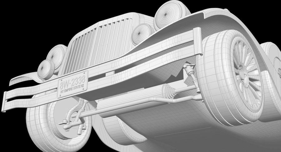 Limusina estirada royalty-free modelo 3d - Preview no. 24