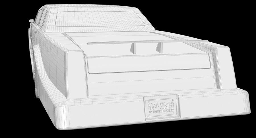 Limusina estirada royalty-free modelo 3d - Preview no. 16