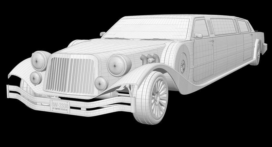 Limusina estirada royalty-free modelo 3d - Preview no. 13