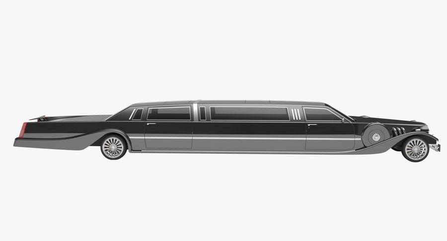 Limusina estirada royalty-free modelo 3d - Preview no. 6