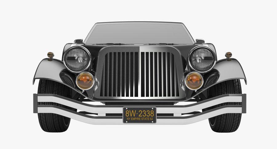 Limusina estirada royalty-free modelo 3d - Preview no. 7